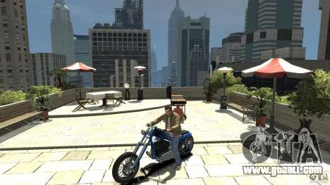 The Lost and Damned Bikes Hexer for GTA 4 left view