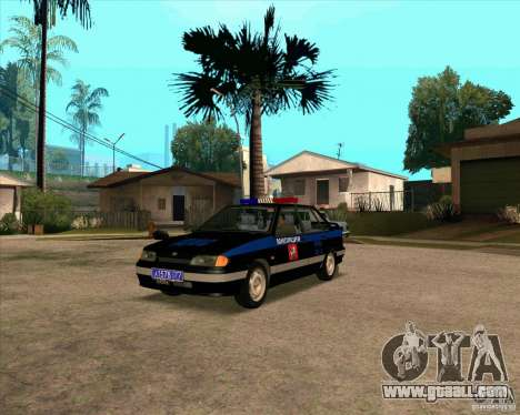Vaz 2115 DPS for GTA San Andreas