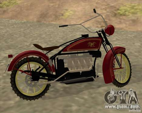 1923 ACE 1200cc for GTA San Andreas right view