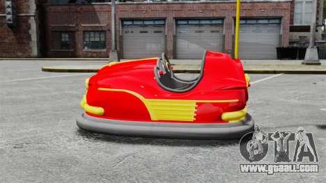 Bumper car for GTA 4 left view
