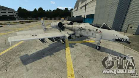 A-10A Thunderbolt II for GTA 4