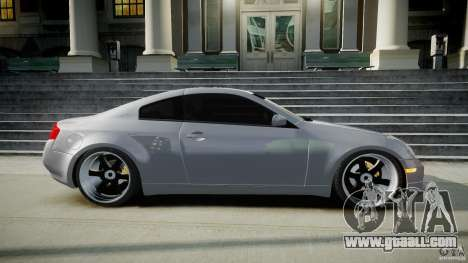 Infiniti G35 Coupe 2003 JDM Tune for GTA 4 side view
