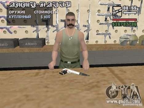 Silverballer silenced from Hitman for GTA San Andreas forth screenshot