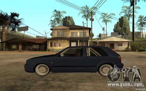 Volkswagen Golf GTI 2 Tuning for GTA San Andreas left view