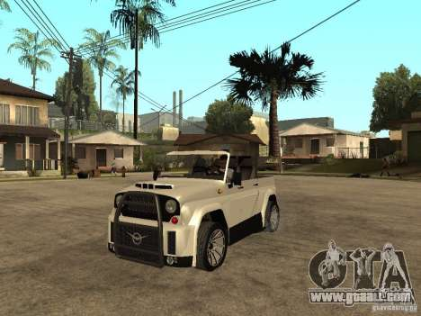 Uaz Cabriolet for GTA San Andreas