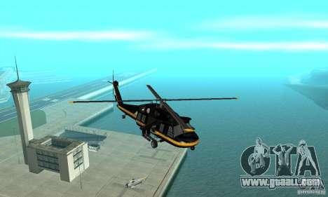 Annihilator for GTA San Andreas inner view