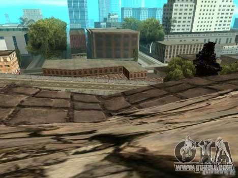 Stone Mountain for GTA San Andreas eighth screenshot