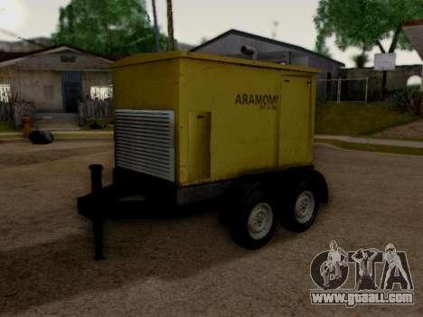 Trailer Generator for GTA San Andreas