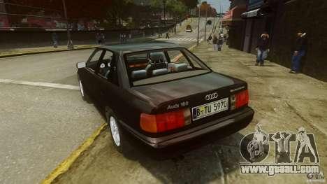 Audi 100 C4 1992 for GTA 4 back left view