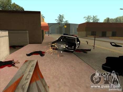 The CLEO script: machine gun in GTA San Andreas for GTA San Andreas third screenshot