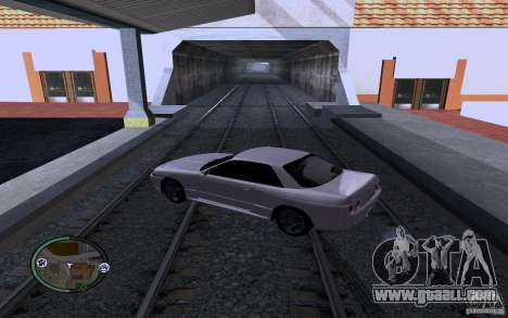 Russian Rails for GTA San Andreas third screenshot
