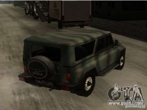 UAZ-3153 for GTA San Andreas right view