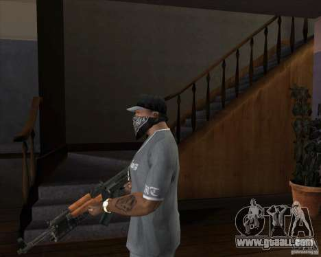 AK-47 upgraded for GTA San Andreas second screenshot