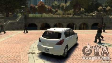 Nissan Versa SL for GTA 4 left view