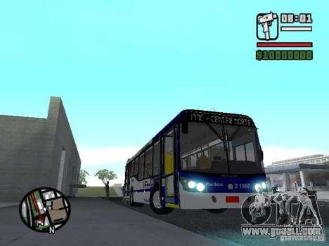 Busscar Urbanuss Ecoss MB 0500U Sambaiba for GTA San Andreas inner view