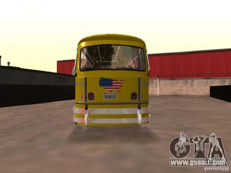 Bedford School Bus for GTA San Andreas back left view