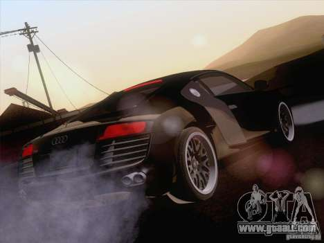 Audi R8 Hamann for GTA San Andreas interior