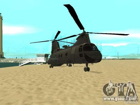 Helicopter Leviathan for GTA San Andreas left view