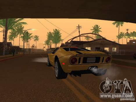 Ford GT for GTA San Andreas back left view