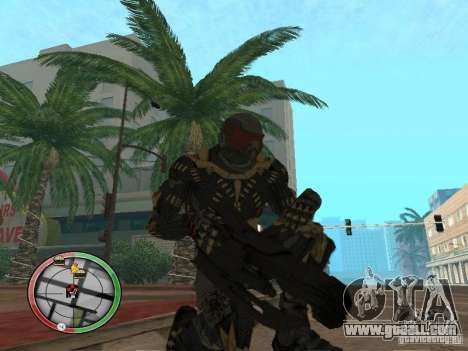 Alien weapons of Crysis 2 for GTA San Andreas
