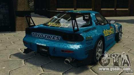 Mazda RX-7 RE-Amemiya for GTA 4 back left view