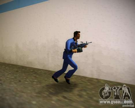 FN M249 for GTA Vice City second screenshot