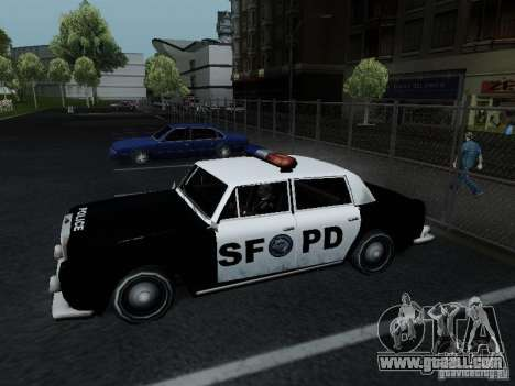 Stafford Police SF for GTA San Andreas left view