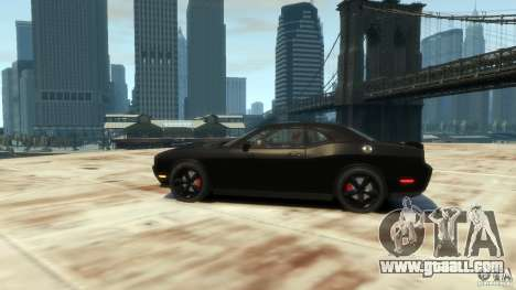 Dodge Challenger SRT8 for GTA 4 back left view