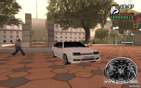 VAZ 2109 Light Tuning for GTA San Andreas