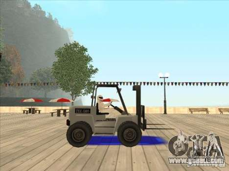 Forklift extreem v2 for GTA San Andreas