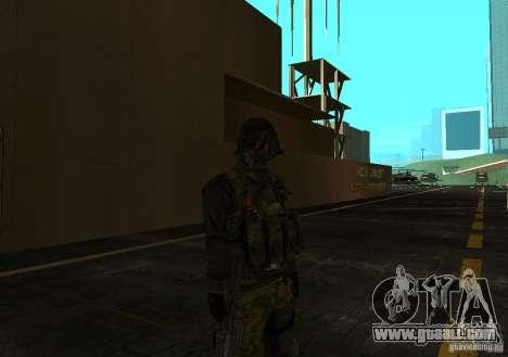 Skin of Battlefield 3 for GTA San Andreas third screenshot