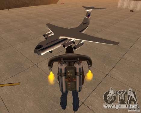The IL-76 for GTA San Andreas