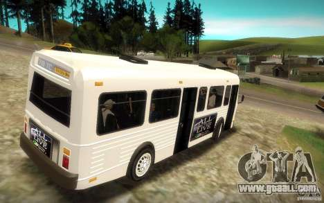 NFS Undercover Bus for GTA San Andreas left view