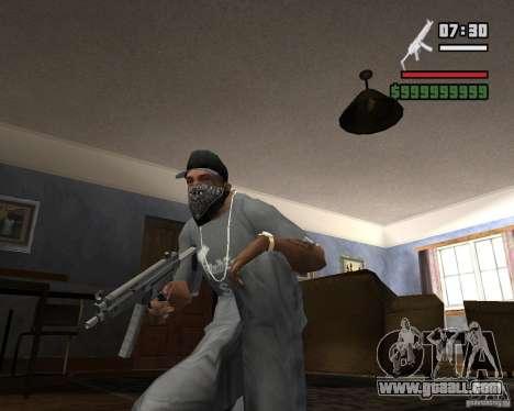 Mp5HD for GTA San Andreas second screenshot
