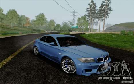 BMW 1M 2011 V3 for GTA San Andreas