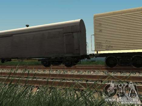 Insulated wagon HST for GTA San Andreas left view