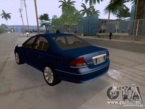 Ford Falcon Fairmont Ghia for GTA San Andreas right view