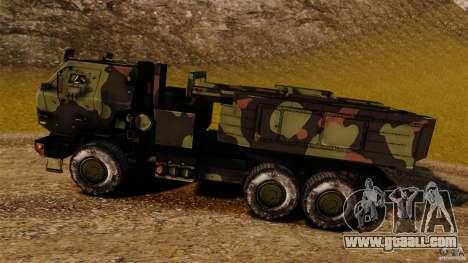 M142 HIMARS for GTA 4 left view