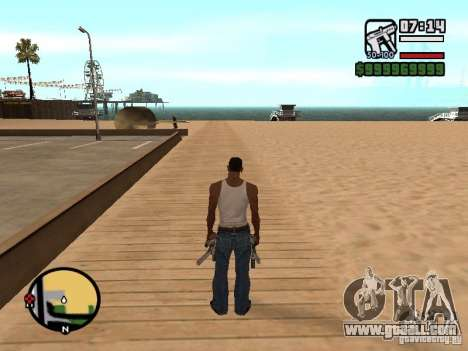 Change the zoom radar for GTA San Andreas second screenshot
