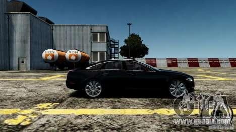 Jaguar XJ 2012 for GTA 4 left view