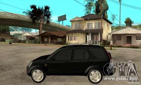 Honda CRV (MK2) for GTA San Andreas left view