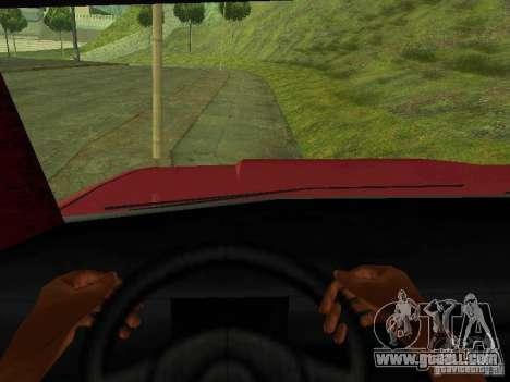 Picador for GTA San Andreas back view