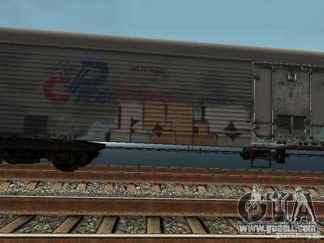 Refrežiratornyj wagon Dessau No. 8 Painted for GTA San Andreas left view