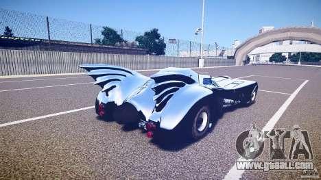 Batmobile v1.0 for GTA 4 upper view