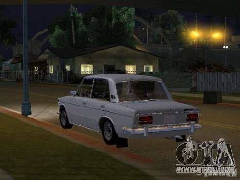 VAZ 2103 Low Classic for GTA San Andreas back left view