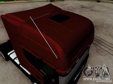 Scania R580 V8 Topline for GTA San Andreas right view
