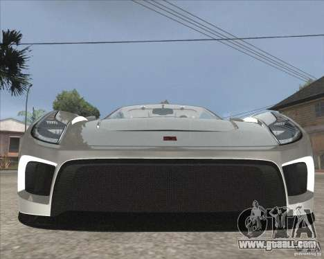 Saleen S5S Raptor for GTA San Andreas back view