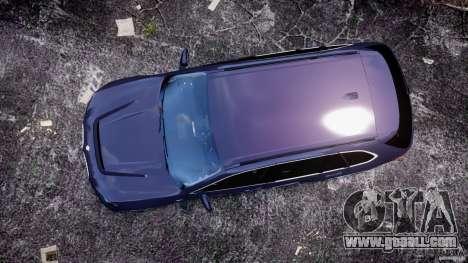 BMW X5 xDrive 4.8i 2009 v1.1 for GTA 4 right view
