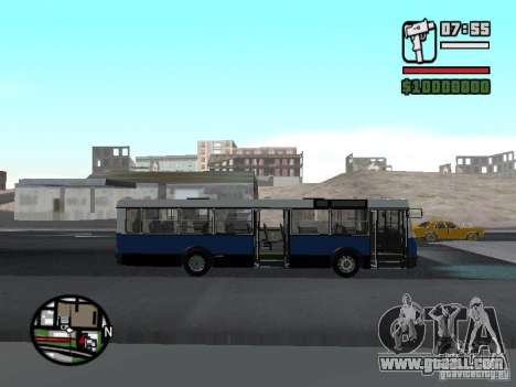 Ikarus 415.02 for GTA San Andreas right view