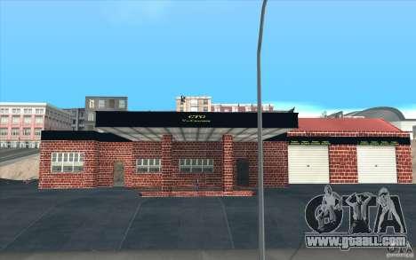New garage in Dorothy for GTA San Andreas third screenshot